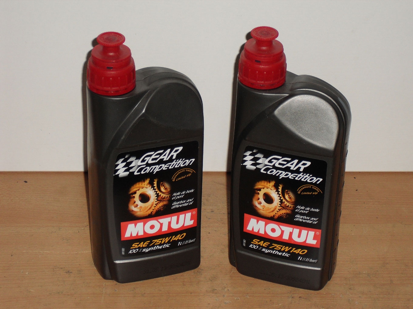 2x1Ltr  Motul Gear Competition SAE 75W-140 Racing gearbox oil BMW Motorsport